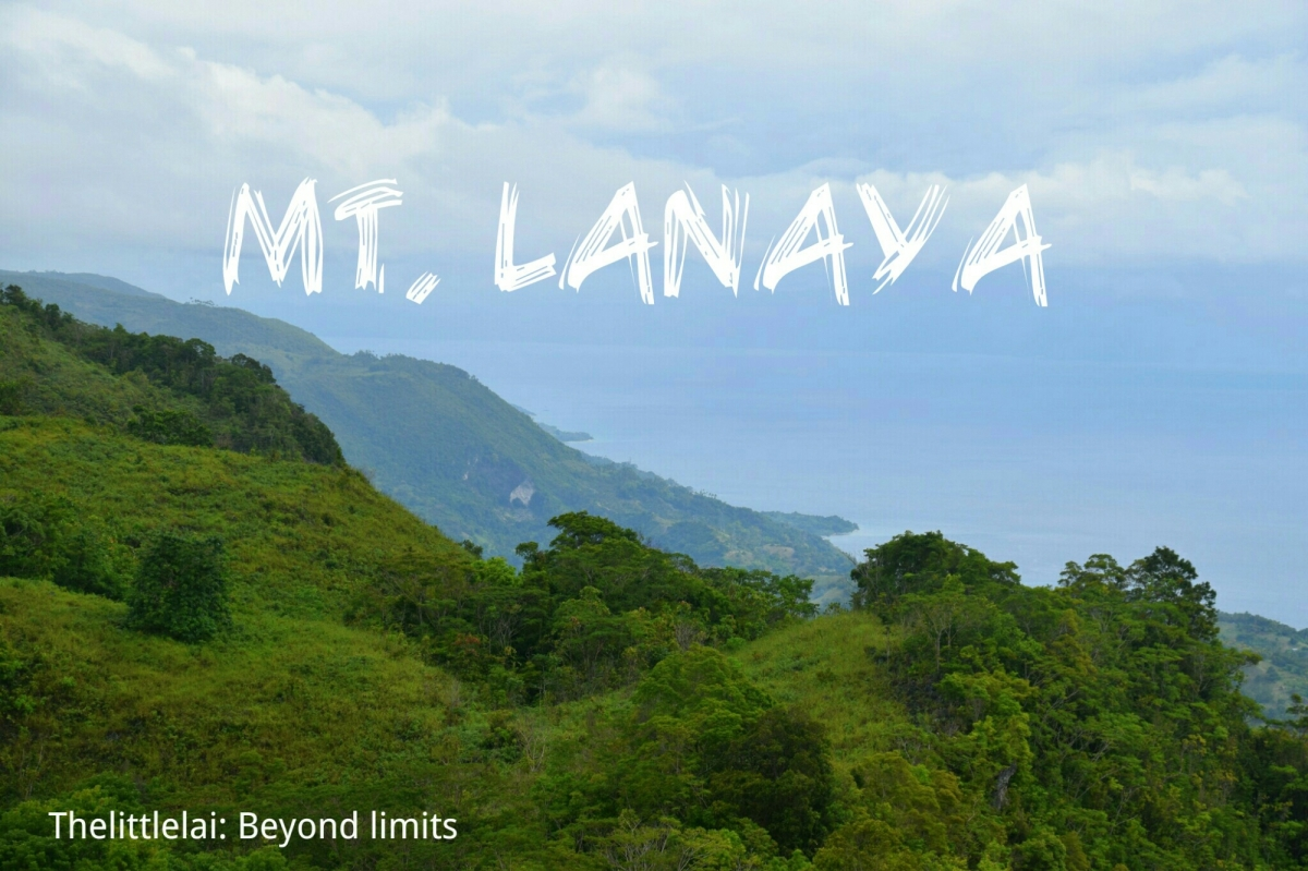 Mt.Lanaya: The kindest mountain I've ever climbed.