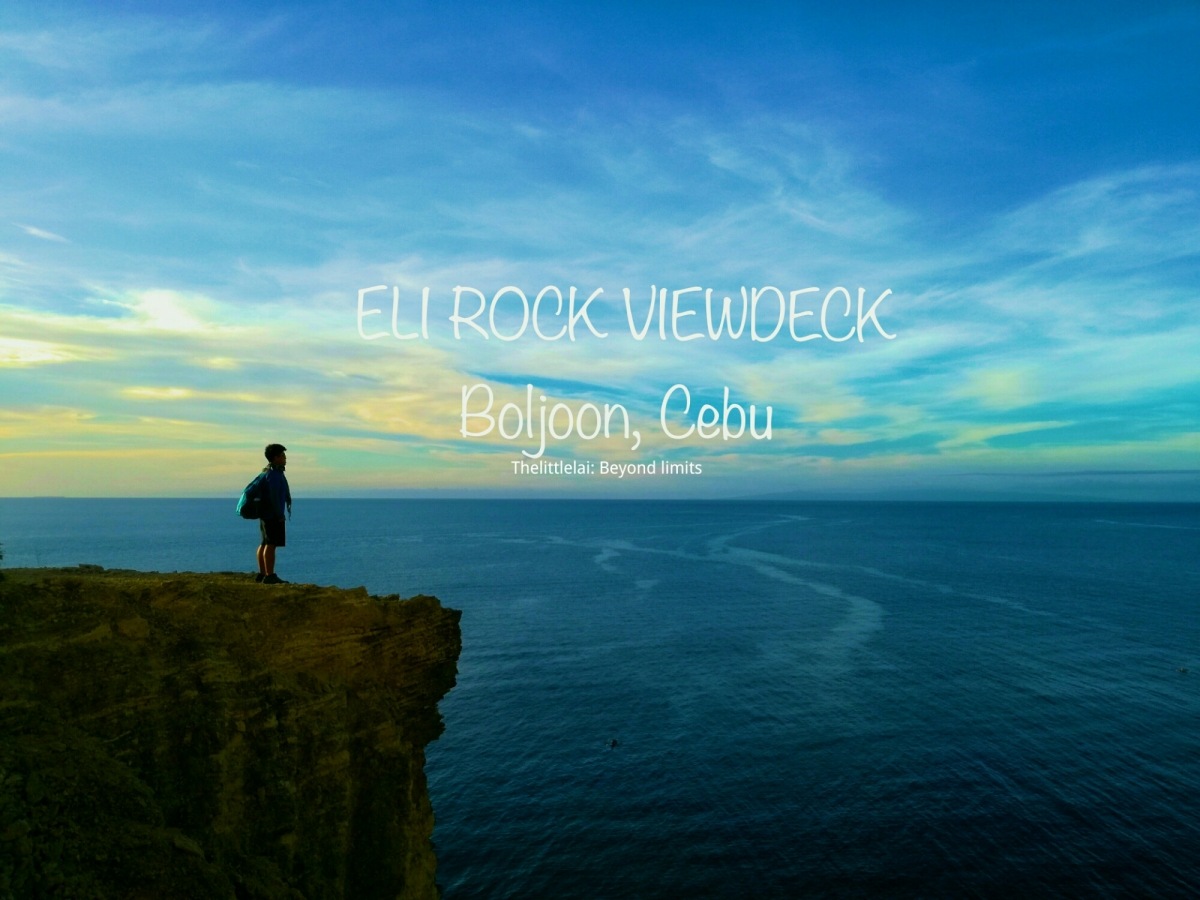 Eli Rock Viewdeck: Your IDEAL spot to ENJOY the SUNRISE in Boljoon, Cebu