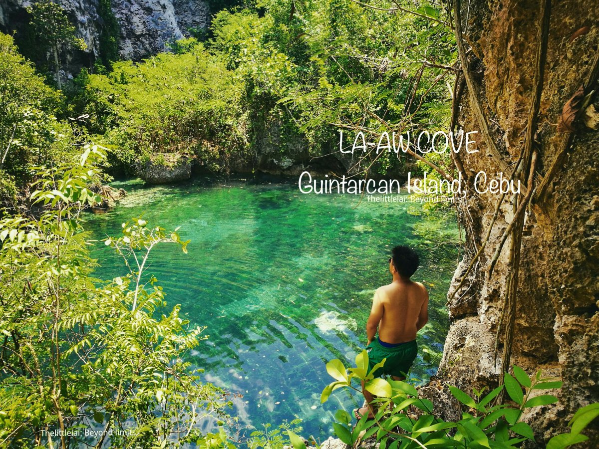 La-aw Cove: The LOVELY Hidden LAGOON On Guintacan Island