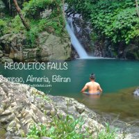 Recoletos Falls:A quick douse in its cold natural pool before going up to Mt. Tres Marias