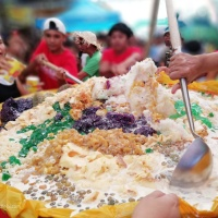 Halo-Halo Festival: A Giant Halo-Halo That Can Feed 1,000 People In Esperanza, Sultan Kudarat