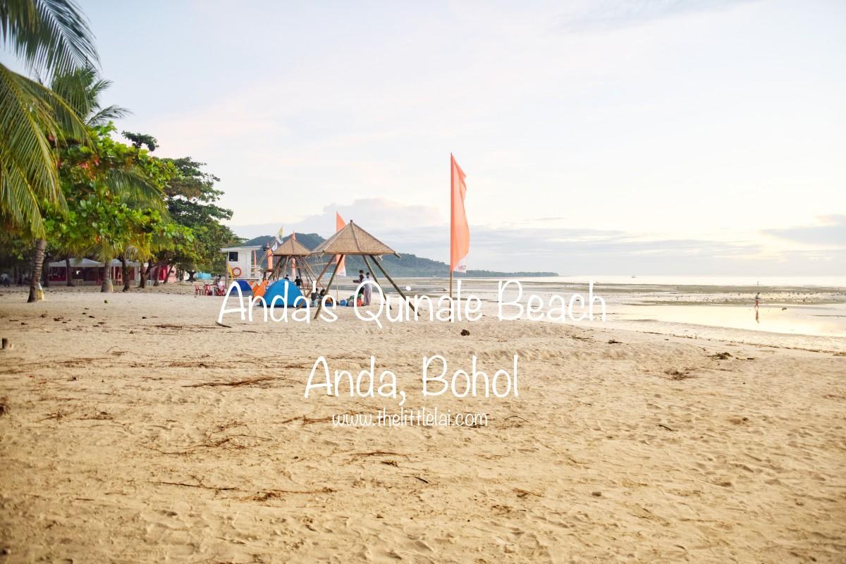 Anda's Quinale Beach: Traipsing On The Powdery White Sand Beach While Enjoying The Sunrise