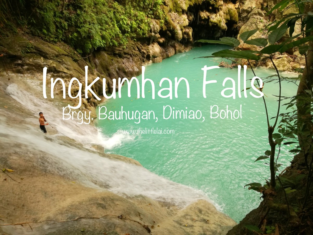 Ingkumhan Falls: An Enticing And Refreshing Waterfall In Dimiao, Bohol