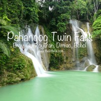 Pahangog Twin Falls: A Secluded And Stunning Twin Falls In Dimiao, Bohol