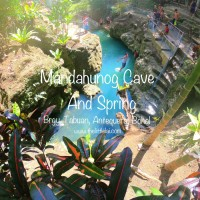 Mandahunog Cave And Spring: Swimming In The Enticing Cave Pool Spring In Antequera, Bohol
