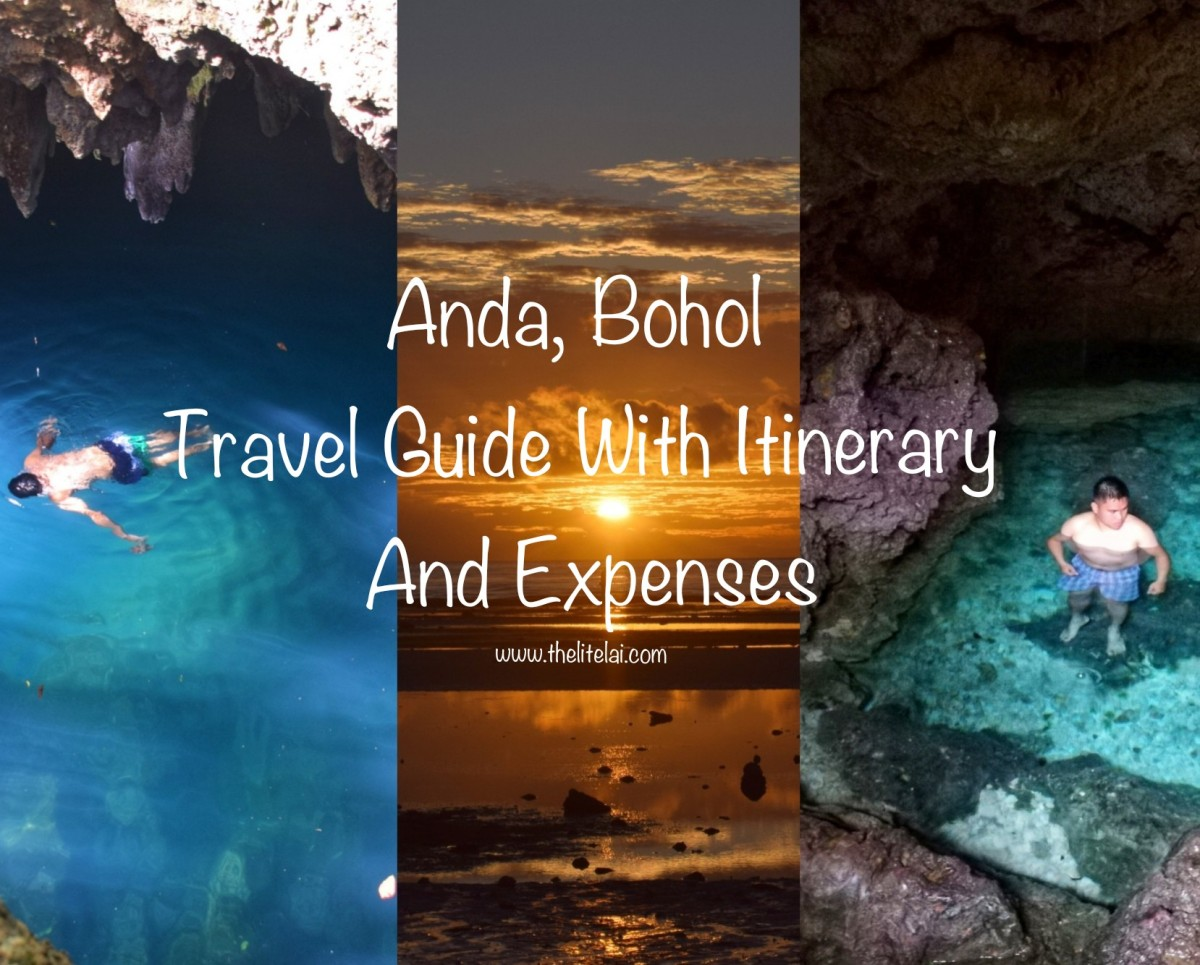 Anda, Bohol: Travel Guide With Sample Itinerary And Breakdown Of Expenses