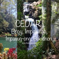 CEDAR, Impasug-ong, Bukidnon: A Perfect Side Trip After Climbing Panimahawa Ridge - Chasing Waterfalls And Hiking